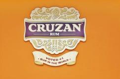 St croix usvi cruzan rum distillery sign Stock Photography