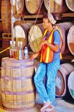 St croix usvi cruzan rum distillery Stock Photos