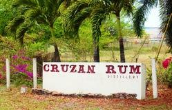 St croix usvi cruzan rum distillery Stock Images