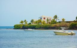 St croix usvi  real estate mansion Royalty Free Stock Photo