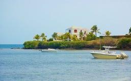 St croix usvi  real estate mansion Royalty Free Stock Photo