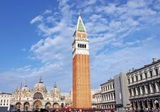 St. Cuadrado de las marcas (plaza San Marco) Imagen de archivo libre de regalías