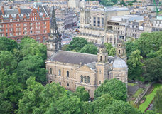 St Cuthbert's Church, Edinburgh Stock Image