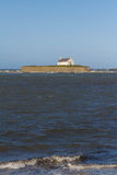 St Cwyfan's, The Church in the Sea. Royalty Free Stock Photos