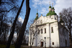 St. Cyril Cathedral, Kiev Stock Photos