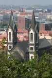 St.. Cyril and Methodius church in Prague Royalty Free Stock Image