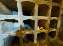 PRAGUE, CZECH REPUBLIC - SEPTEMBER 4, 2017. St. Cyril & Methodius Crypt - Heydrich Terror Memorial, Prague, Czech Republic. St. Cyril & Methodius Crypt Stock Image