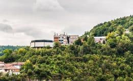 St. Cyril and St. Methodius University of Veliko Turnovo. The St. Cyril and St. Methodius University of Veliko Tarnovo Bulgarian Stock Photos
