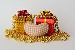 St. día del ` s de la tarjeta del día de San Valentín Fotos de archivo