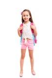 1st dag av skolan! Arkivbild