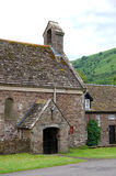 St. David church of Llanthony priory in Brecon Beacons Royalty Free Stock Image
