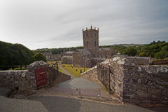 St David's Cathedral Royalty Free Stock Photos