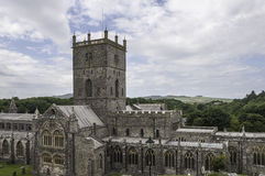 St. David's Cathedral Royalty Free Stock Photo