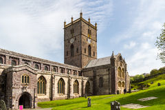 St. David's Cathedral, Wales Stock Photo