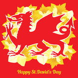 St. David`s Day Stock Images