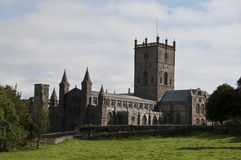 St Davids cathedral Royalty Free Stock Photos