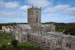 St Davids cathedral Stock Photography