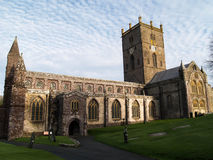 St. Davids cathedral Stock Images