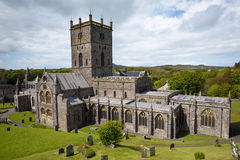 St Davids Cathedral Pembrokeshire Wales UK Royalty Free Stock Photos