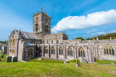 St Davids Cathedral in Wales Royalty Free Stock Image