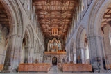 St. Davids Cathedral, Wales, UK Stock Image