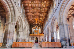 St. Davids Cathedral, Wales, UK Stock Photography
