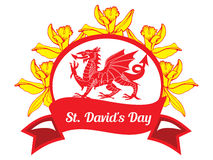 St. Davids Day Stock Photo