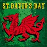 St Davids day Royalty Free Stock Photos