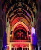 St Davids Kathedraal Hobart stock afbeelding