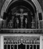 St Davids Kathedraal Hobart royalty-vrije stock foto