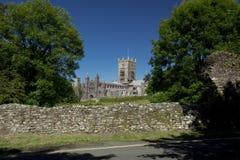 St Davids, Pembrokeshire, Pays de Galles, R-U, juillet 2014, une vue de cath?drale de Davids de saint images libres de droits