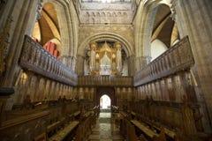 St Davids, Pembrokeshire, Pays de Galles, R-U, juillet 2014, une vue de cath?drale de Davids de saint image stock
