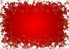 St. de achtergrond van de valentijnskaart. Royalty-vrije Stock Foto's