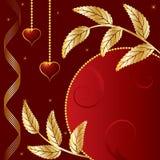 St. de banner van de Dag van de valentijnskaart Royalty-vrije Stock Afbeelding