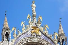 St de Basiliek van het Teken, Venetië Royalty-vrije Stock Foto's