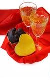 St. de dag van de valentijnskaart Stock Afbeeldingen