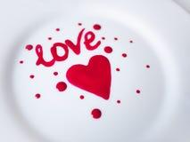St de Dag van de valentijnskaart Stock Foto's