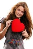 St de Dag van Valentijnskaarten Stock Afbeelding