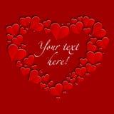 St de Dag van valentijnskaarten vector illustratie