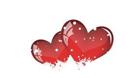 St. de dagkaart van de valentijnskaart Stock Foto