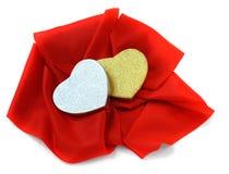 St. de dagthema van de valentijnskaart. Stock Afbeeldingen
