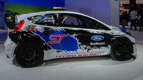 2014 ST de Ford Fiesta, RallyCross global Imagem de Stock