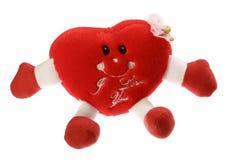 St. de kaart van de valentijnskaart Stock Afbeelding