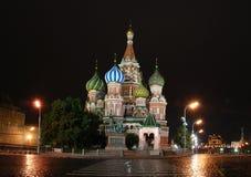 St. de Kathedraal van het basilicum Stock Foto's