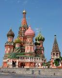 St. de Kathedraal van het basilicum (het Kremlin, Moskou, Rusland) Stock Foto