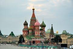 St. de Kathedraal van het basilicum (het Kremlin, Moskou, Rusland) Royalty-vrije Stock Fotografie