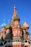St. de Kathedraal van het basilicum in Moskou Royalty-vrije Stock Foto