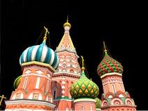 St de Kathedraal van het Basilicum, Moskou, Royalty-vrije Stock Fotografie