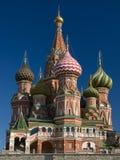St. de Kathedraal van het basilicum in Moskou Stock Afbeeldingen