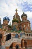 St. de Kathedraal van het basilicum (Moskou, Rood Vierkant) stock afbeeldingen